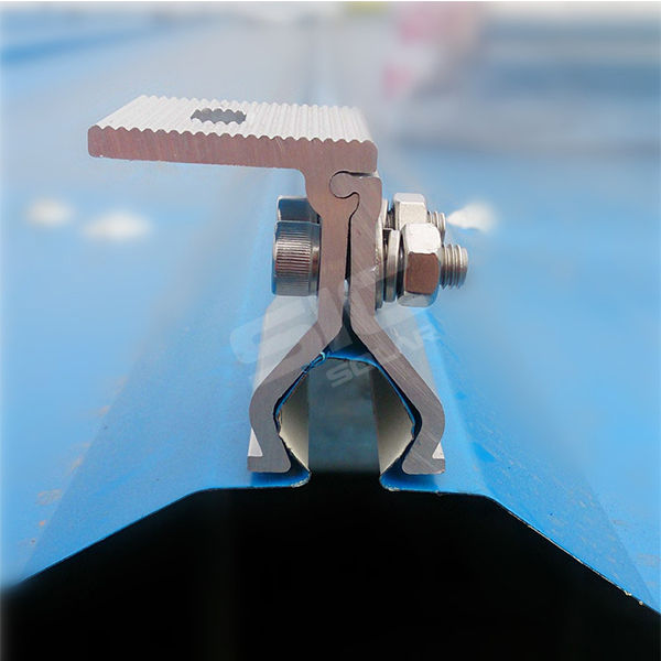 Non-penetrating tin clamp