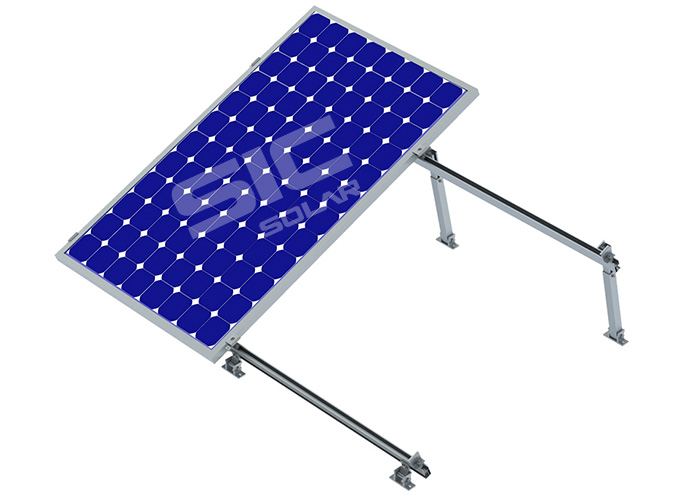 solar panel flat roof mounting brackets