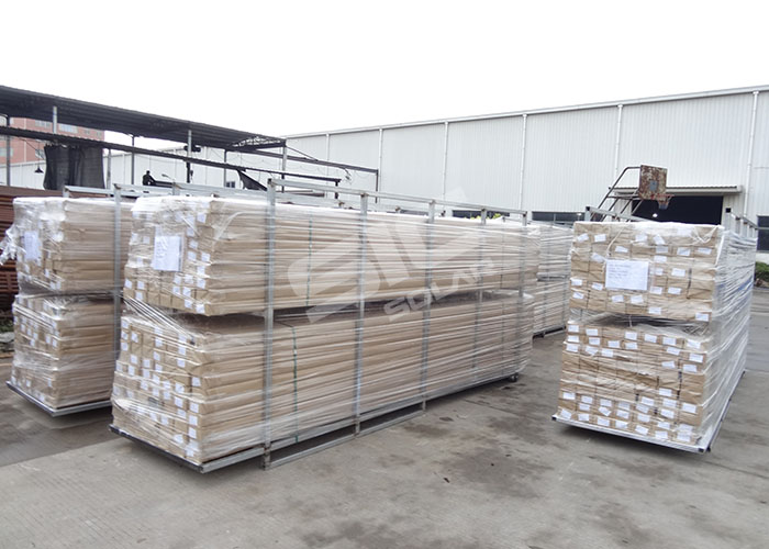 package for solar roof mounting rail