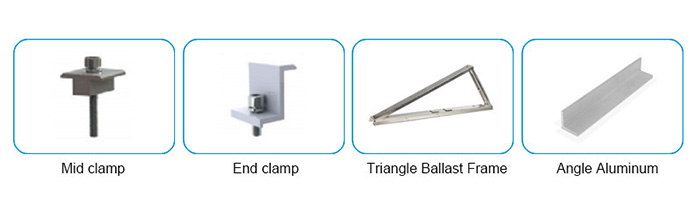 Ballast mounting components