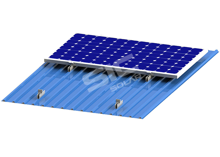 U-type mini rail solar racking